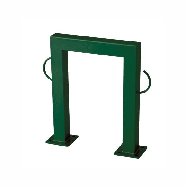 ドッグポールDタイプ・グリーン(ガーデン用のベースプレート付き犬用スタンド)