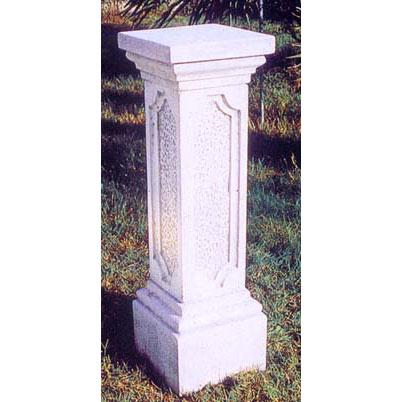 イタリア製石像台座:エトルスコ(幅31cm、奥行31cm、高さ98cm)