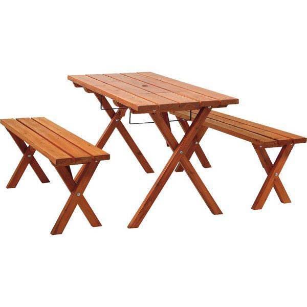バーベキューピクニックテーブルセット