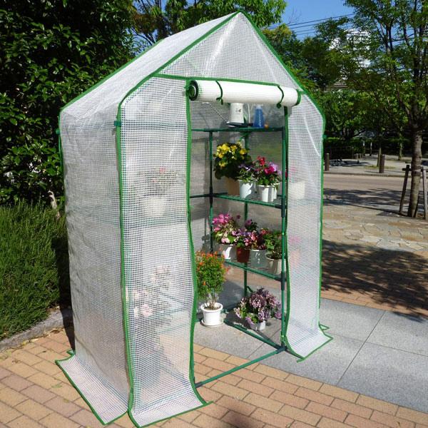 組立式簡易温室セミグリーンジャンボと替えカバーのセット