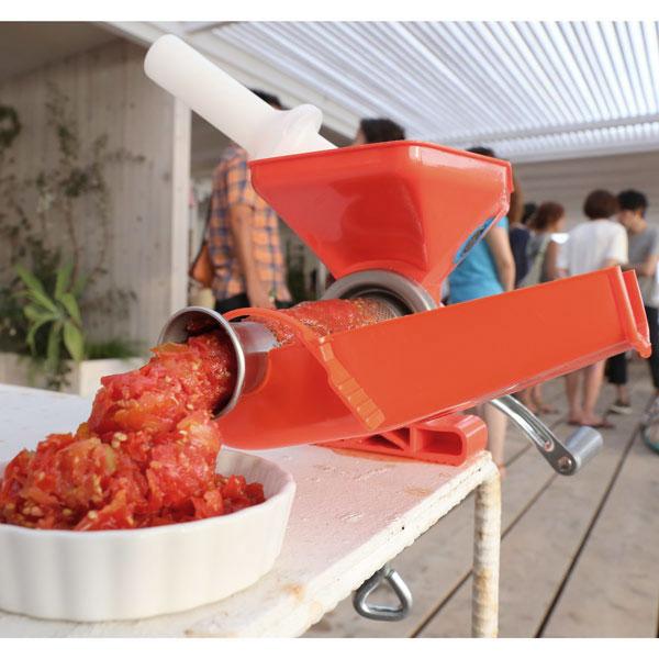 トマトジュースメーカー ファビオ(小型手動)