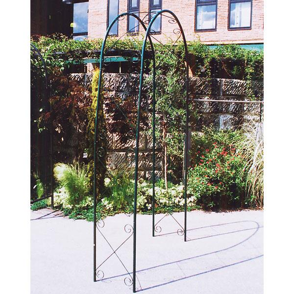 ガーデンアーチR-N型(幅111cm、高さ230cm)