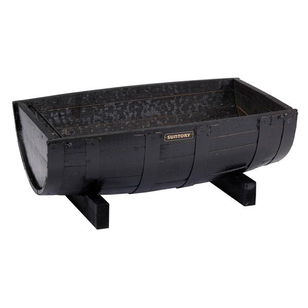 ウイスキーの樽タブ:舟型63黒