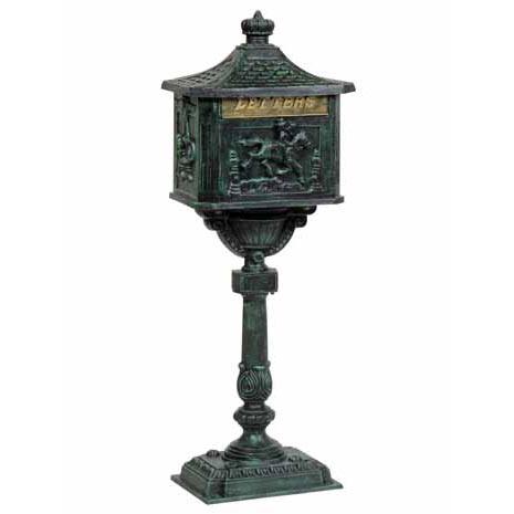 ビクトリアメールボックス青銅色(郵便受け)