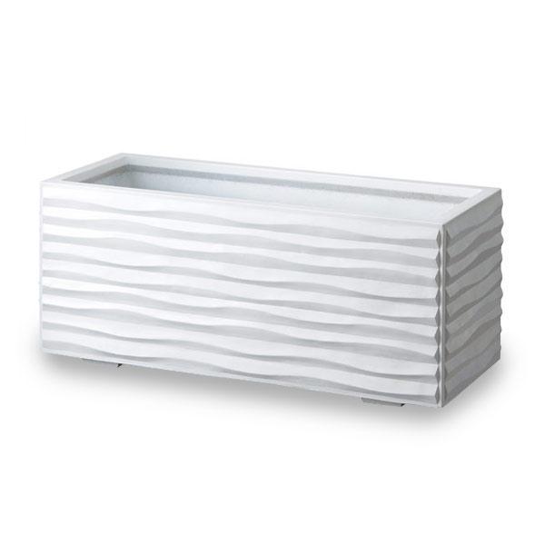 GRCプランター:ウェーブ1240・ホワイト