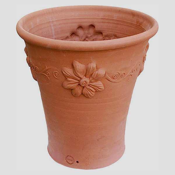 Willow Potteryの鉢 トールクレマチスポット:TCF 直径37cm