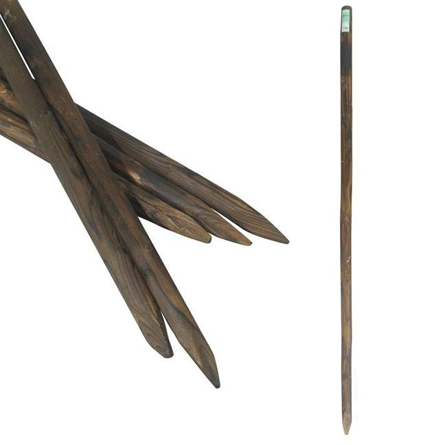 細先杭焼磨 長さ180cm直径5cm 12本セット