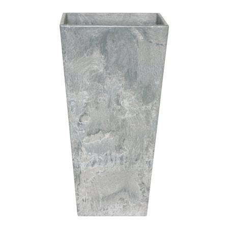 上質で快適 アートストーン トールスクエアー グレー高さ90cm, ドリームインテリア 83211f3d