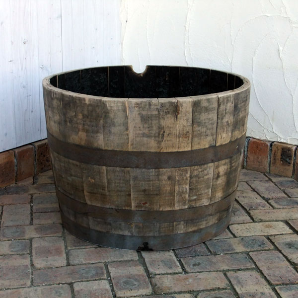 サントリー樽ものがたり:古樽半切りプランター180リットル