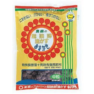 超発酵油かす(発酵油粕)おまかせ 中粒5kg5袋セット(4-6-2)