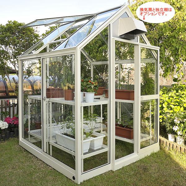 [送料無料] 家庭用屋外温室プチカ:1坪タイプWP-10H(引戸タイプ)