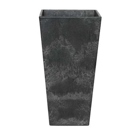 アートストーン トールスクエアー ブラック高さ70cm
