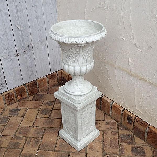 PSスタンドカップ直径30cmと花台スクエアS高さ34cmのセット