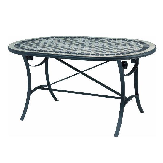 [送料無料]マーキュリー モザイクダイニングテーブル
