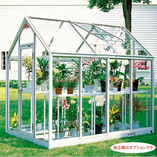 [送料無料] 家庭用屋外温室プチカ1.5坪タイプWP-15(ドアタイプ)