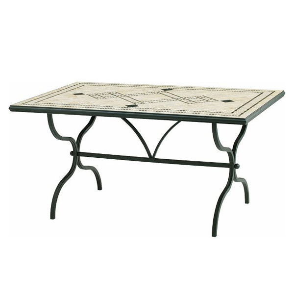 [送料無料]デルタモザイク ダイニングテーブル
