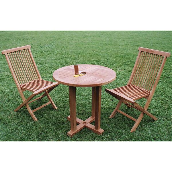 チークの丸テーブル0808直径80cm