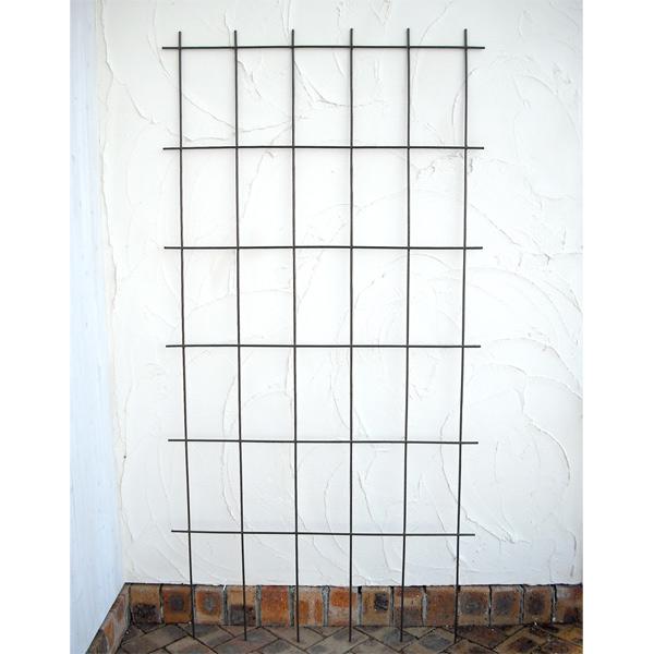 クライミング スクエアトレリス ブラウン 4枚セット(幅90cm、高さ180cm))