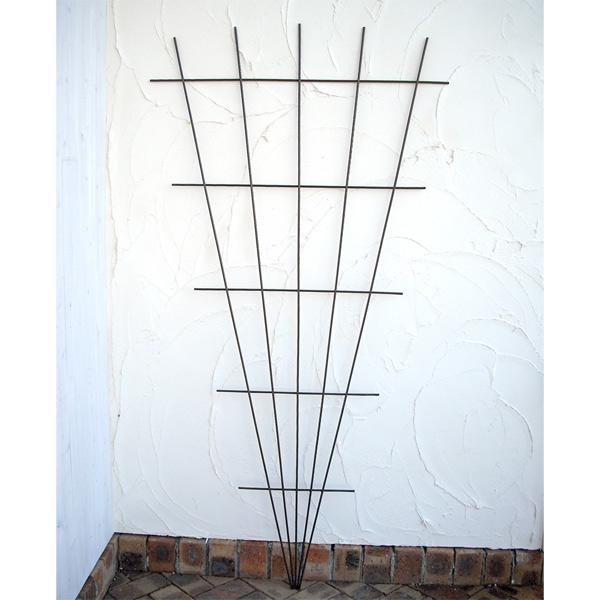 クライミング トレリス ブラウン 4枚セット(幅90cm、高さ180cm)