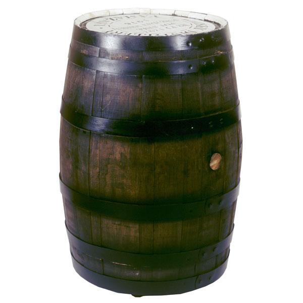 サントリー:化粧樽テーブル180リットル・白州マーク(キャスター付)