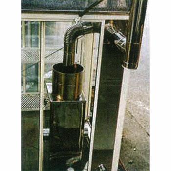 石油暖房機用給気スライドパネル2段窓用(70~90cm)