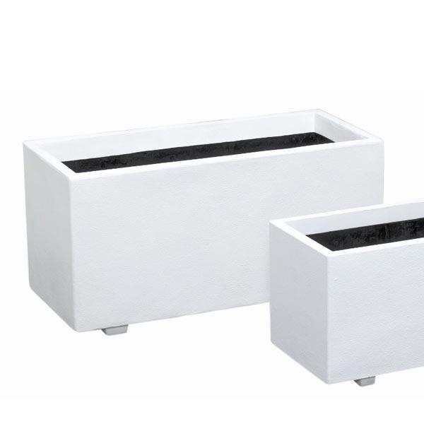ファイバーグラス:ホワイトプランターW100型