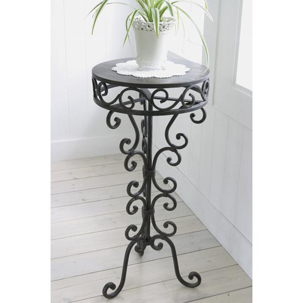 ベローナ・スモールテーブル(直径30cm、高さ65cm)
