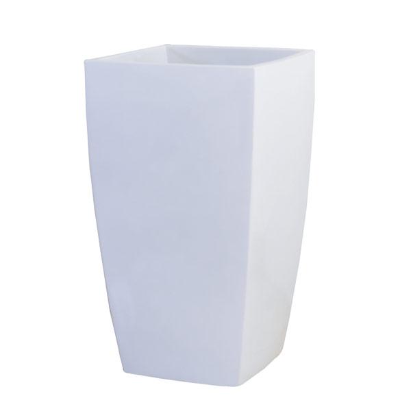 ファイバーグラス鉢カバー:アーバンポットAL型ホワイトAL-32(6~8号鉢用)