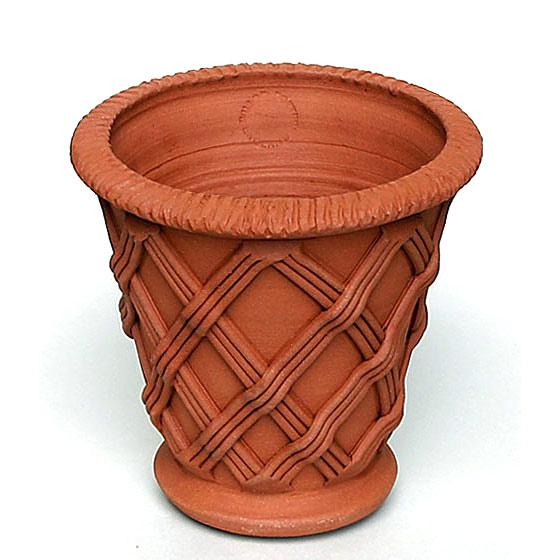 Willow Potteryの鉢 リトルバスケットウエア:LEB 直径19cm