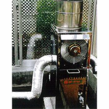 石油暖房機SP-527A用送風アルミダクト(3坪以上の温室用)