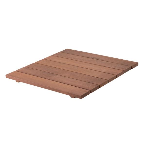 木製(ウリン材)イージーデッキパネル87×87cm