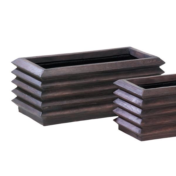FRP樹脂大型プランター:アゼクラプランター95型