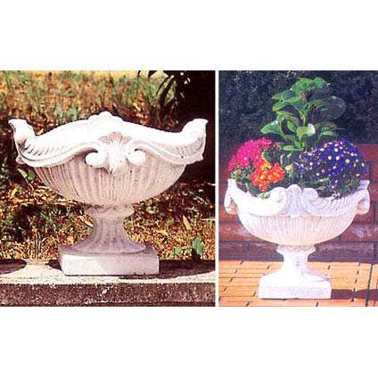 イタリア製花鉢:ロレンティナ