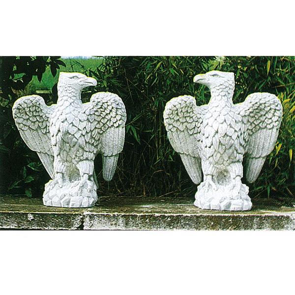 人気商品 イタリア製石像:海辺の鷲(左), マンモス:3011751f --- construart30.dominiotemporario.com
