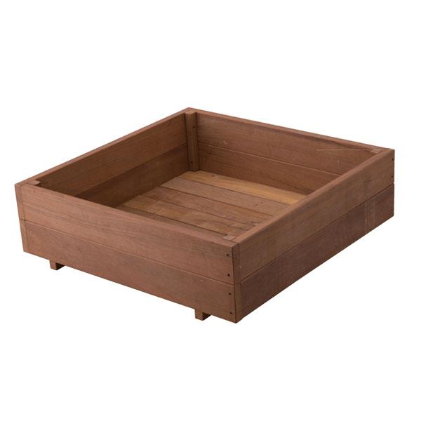 木製(ウリン材)イージーフラワーボックス87×87cm