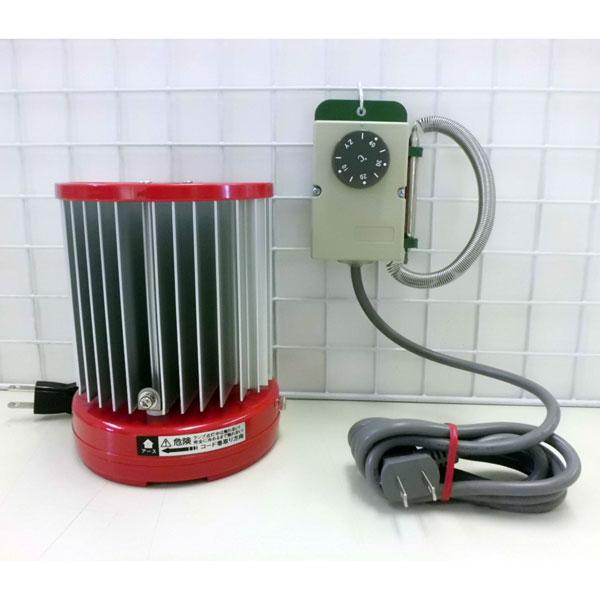 パネルヒーター200W・グリーンサーモZY-6A付き(温室用)
