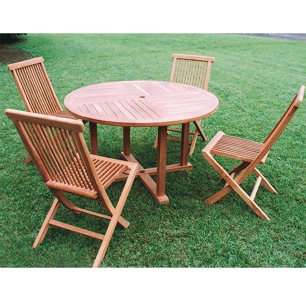 チークの丸テーブル1111直径110cm
