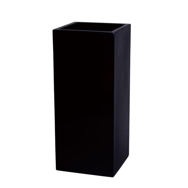 ファイバーグラス鉢カバー:プリズム8号鉢ブラック(8号鉢用)
