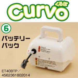 電動ミニ耕運機Curvo(くるぼ)用 バッテリーパック