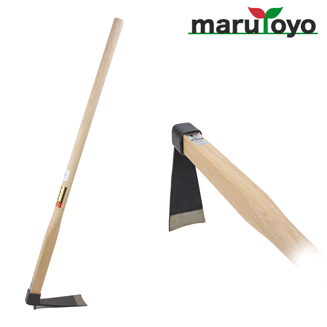 家庭菜園に 軽くて使いやすい マルトヨ 家庭鍬 売り出し たけのこ バチ鍬 バチ 直営ストア 鍬