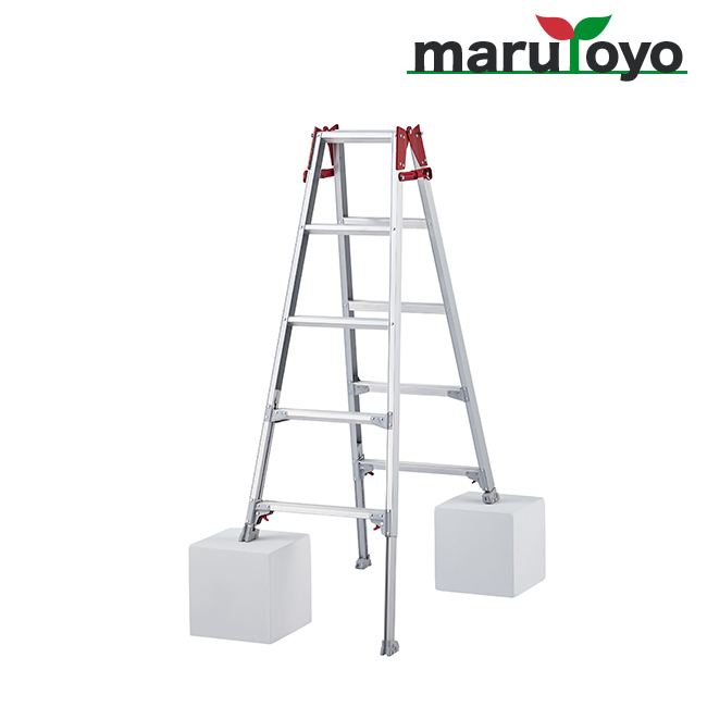 はしご兼用脚立 脚部伸縮式 RYZ-15b【長谷川工業】【Hasegawa】【代引き不可】【メーカー直送品】