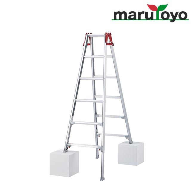はしご兼用脚立 脚部伸縮式 RYZ-18b【長谷川工業】【Hasegawa】【代引き不可】【メーカー直送品】