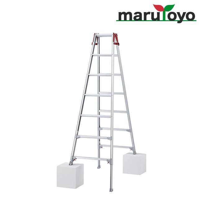 はしご兼用脚立 脚部伸縮式 RYZ-21b【長谷川工業】【Hasegawa】【代引き不可】【メーカー直送品】
