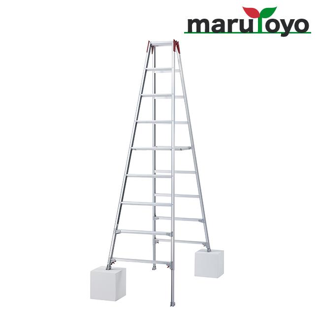はしご兼用脚立 脚部伸縮式 RYZ-27b【長谷川工業】【Hasegawa】【代引き不可】【メーカー直送品】