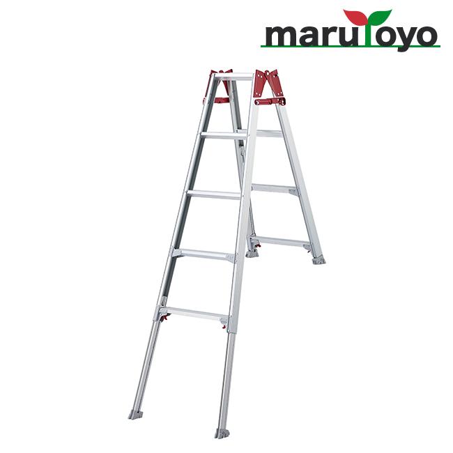 はしご兼用脚立 脚部伸縮式 RYE-15b【長谷川工業】【Hasegawa】【代引き不可】【メーカー直送品】