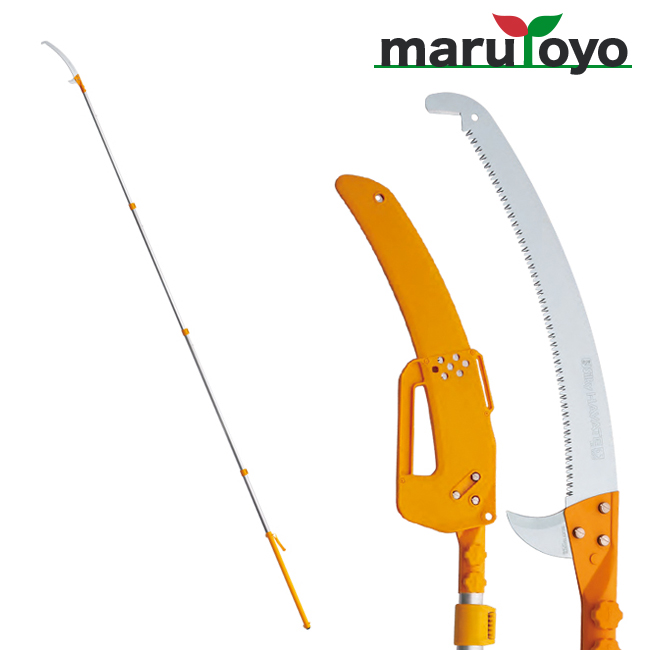 Silky ハヤテ-HAYATE 4段 420mm 【372-42】【高枝鋸】【シルキー】【鋸】【のこぎり】