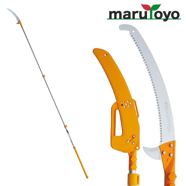 Silky ハヤテ-HAYATE 3段 420mm 【371-42】【高枝鋸】【シルキー】【鋸】【のこぎり】