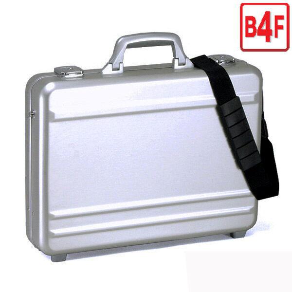 【送料無料】ブロンプトン BROMPTONアルミアタッシュケース B4F 45 #21199 メンズ 錠前付き ビジネスバッグ ブリーフケース フライトケース パイロットケース ショルダーベルト付き 軽量 堅牢
