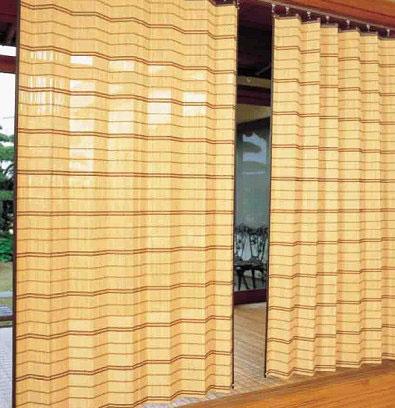 【送料無料】竹すだれカーテン 200×170cm 【メーカー直送のため代引決済不可】TC52170W