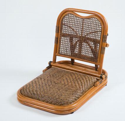 【メーカー直送のため代引き不可】【送料無料】ラタン畳座椅子 GNM01  ラタンチェア